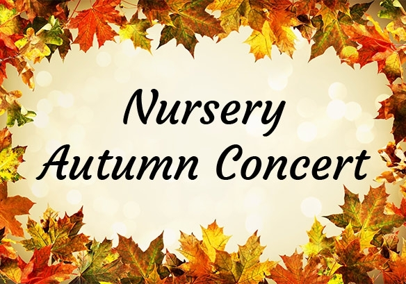 Nursery Autumn Concert S