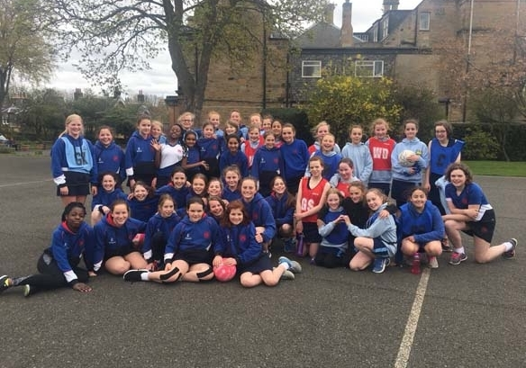 Remove netball v Bruntsfield primary