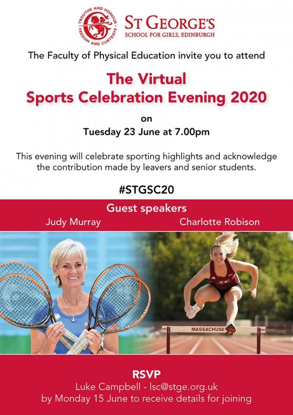 Sports Celebration Flyer 2020
