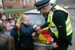 Junior road safety club and police visit 12