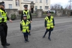 Junior road safety club and police visit 19