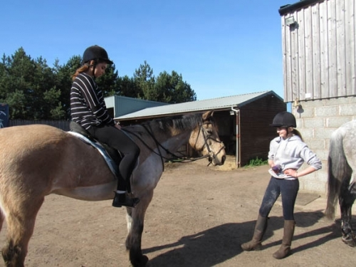 Horse Riding at North Berwick 3