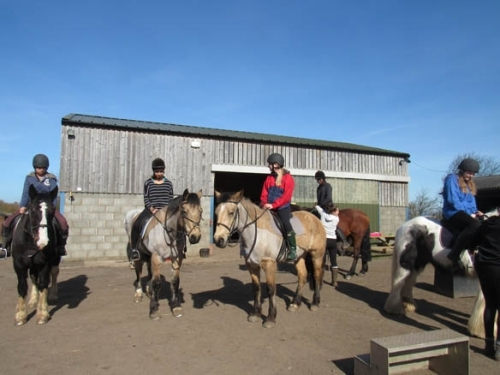 Horse Riding at North Berwick 4