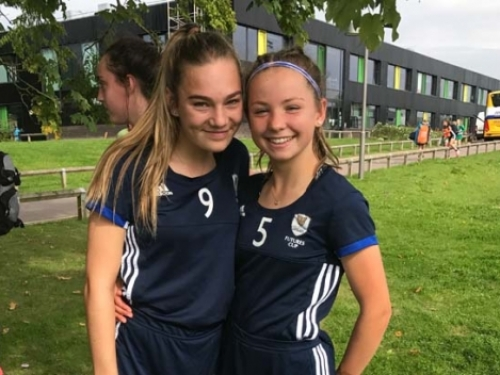 emma and charlotte at Futures Cup 2017