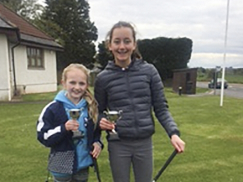 honor and beth st leonards golf trophies