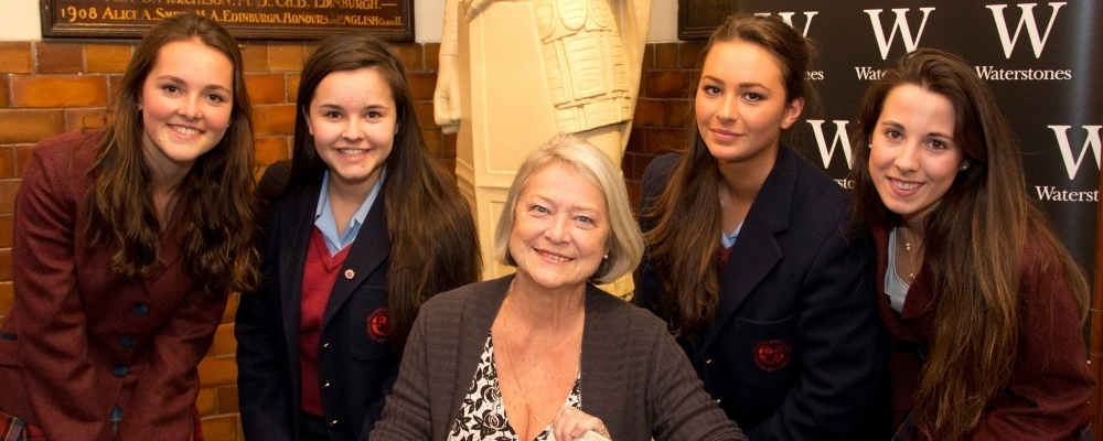 Carousel Upper Kate Adie and St Georges School for Girls